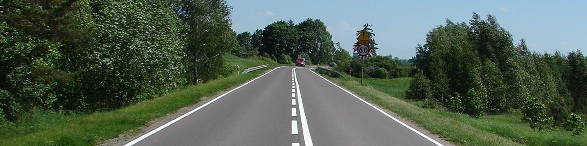 Bakałarzewo, droga nr 653